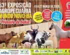 53ª Exposição Agropecuária será realizada em Mundo Novo-BA