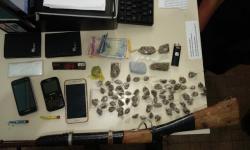 Quatro suspeitos de tráfico de drogas s