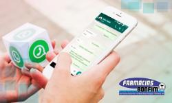 Farmácias Bonfim passa a atender também via WhatsApp