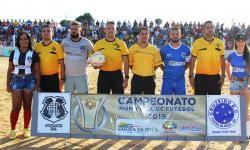 Com gol do serrolandense Eudair Cruzeiro vence no Municipal de Várzea da Roça