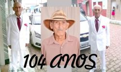 Morre aos 104 anos em Serrolândia o senhor Aristeu Ribeiro de Sena