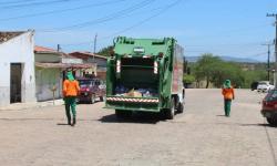 Prefeitura de Serrolândia agora conta com caçamba coletora e compactadora de lixo
