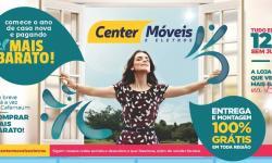 Comece o ano de casa nova com a Center Móveis de Serrolândia