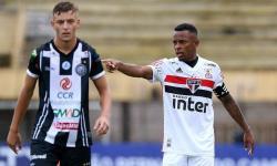 Com serrolandense como capitão, São Paulo goleia o Palmeira-RN na segunda rodada da Copinha