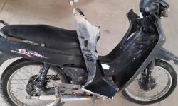 Carro conduzido por adolescente colide em motociclista sem CNH em Jacobina