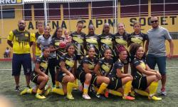 Serrolândia Esporte Clube, vence a Seleção de Capim Grosso pelo Placar de 4x3, na primeira partida válida pelas quartas-finais da Copa Jacuípe de Futebol Feminino