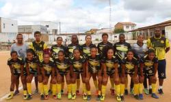 Esporte Clube Serrolândia, vence Seleção de Capim Grosso pelo placar de 2x0 e passa pra semifinal da Copa Jacuípe de Futebol Feminino.