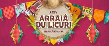 Prefeitura de Serrolândia divulga a data do Arraiá Du Licuri 2020