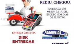 Farmácia Bonfim disponibiliza entrega grátis de medicamentos