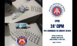 POLICIA PRENDE INDIVÍDUOS POR TRÁFICO DE ENTORPECENTES EM JACOBINA