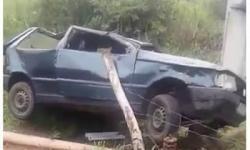 Jovem morre após perder controle da direção e capotar carro no município de Piritiba-BA – confira