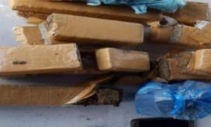 Blitz da Polícia Rodoviária apreende 10 kg de maconha na BA-052