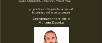Escritor de Jacobina, procura poetas de Serrolândia para participarem da antologia Bardos Baianos.