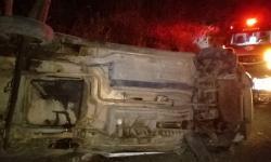Acidente de carro entre Jacobina e Novo Paraíso