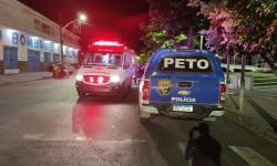 Câmeras de segurança mostram colisão entre motos na Avenida Lomanto Jr em Jacobina