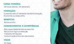 Sicoob contrata estagiário para Serrolândia