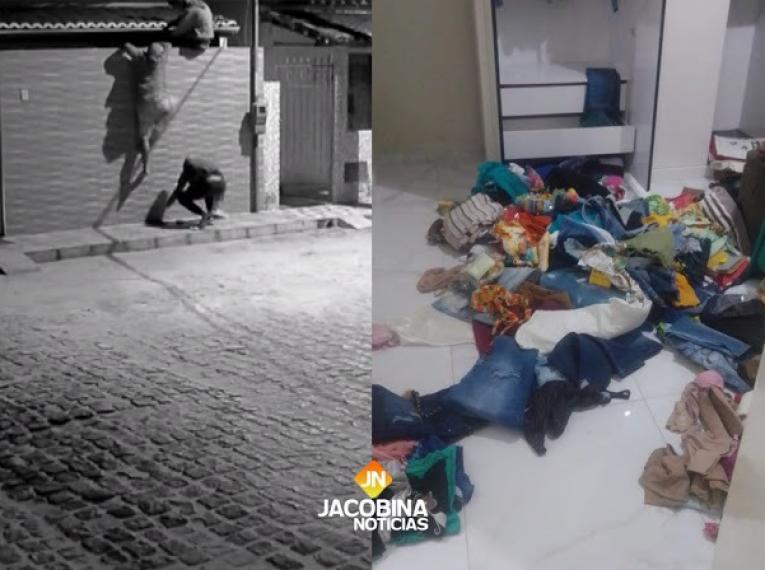 Bandidos armados invadem residência para roubar de família em Serrolândia