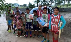 A Tático Monitoramento acredita que o incentivo ao esporte é o caminho para diminuir a violência/drogas em Serrolândia.