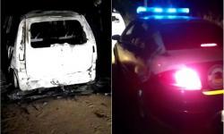 Guarda Municipal localiza carro incendiado na região de Novo Paraíso de Jacobina