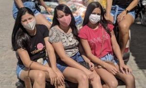 Grupo realiza doação da campanha Páscoa solidária em Serrolândia