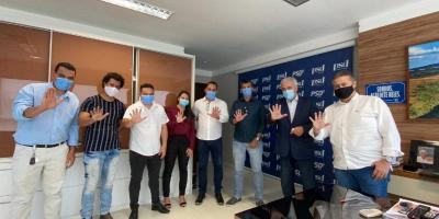 Comitiva do PSD de Serrolândia busca investimentos em Salvador