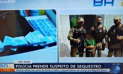 PRF prende suspeito de participação em sequestro de garoto em Miguel Calmon