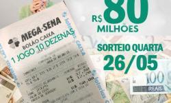 Já comprou seu bolão da Mega Sena Acumulada 80 milhões?
