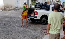 Jovem sofre tentativa de homicídio no Bairro da Caixa D'água em Jacobina