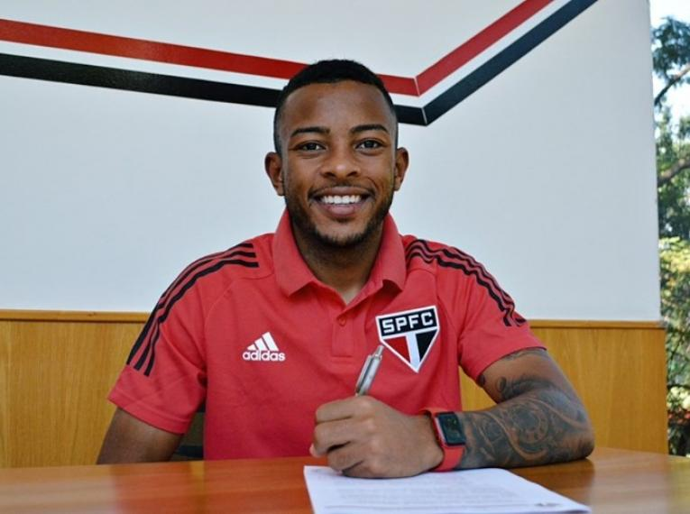 São Paulo renova contrato de Serrolandense Welington até 2024