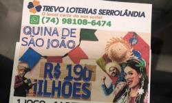 É AMANHÃ! PEÇA SEU BOLÃO DA QUINA DE SÃO JOÃO 190 MILHÕES