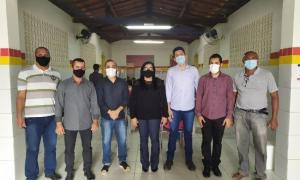 Vereadores participam junto com o Poder Executivo de ações que beneficiam o Povoado de Maracujá