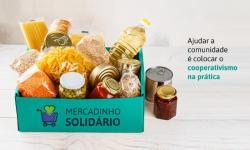'Mercadinho Solidário' do Sicoob segue até segunda-feira (2); participe