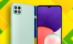 Samsung Galaxy A22 é oficialmente lançado no Brasil com Helio G80 e foco em câmeras