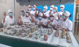 Grupo de mulheres de Jacobina aposta na produção de doces, geleias e temperos para gerar renda