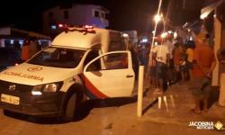 Várzea do Poço: Motorista bêbado sobe em passeio e atropela três pessoas