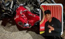 Motociclista morre ao colidir com caminhão na BR 324 em Jacobina; Condutor de Strada capota ao desviar de corpo na pista