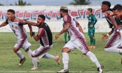 Com bom passe do serrolandense Eudair Jacuipense marca o gol do acesso inédito à Série C
