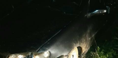 Acidente na BA-130, entre Mairi e Várzea da Roça