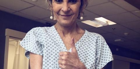 Ludmila Ferber entra em nova fase na luta contra o câncer e gospel apoia