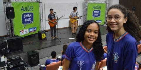 Secretaria da Educação inicia mais um ciclo de Aulões ENEM 100%  com transmissão ao vivo pela internet