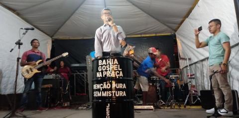 Mirangaba recebeu Bahia Gospel na Praça no ultimo sábado