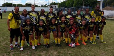 O Esporte Clube Serrolândia goleia Seleção de Pintadas pela Copa Jacuípe de Futebol Feminino.