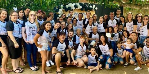 Familiares de centenário de Quixabeira comemoram seus 100 anos