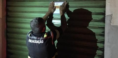 Quixabeira: Vigilância Sanitária notifica e interdita bares no município