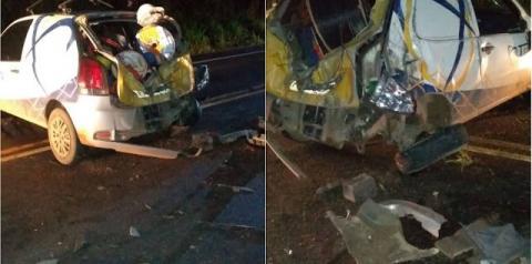 Vereador Dibas Jatobá se envolve em acidente na BR 324 em Jacobina