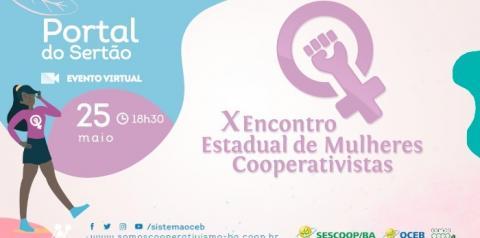 É amanhã: 10º Encontro Estadual de Mulheres Cooperativistas