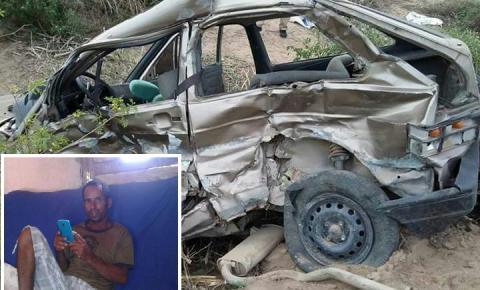 Acidente com moradores de Quixabeira deixa um morto e vários feridos