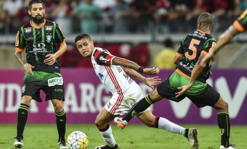 América-MG é superado pelo Flamengo e tem rebaixamento confirmado