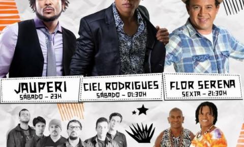 Jau, Ciel Rodrigues, Viola de 12 e Felipe Marques estarão se apresentando no aniversário de Miguel Calmon
