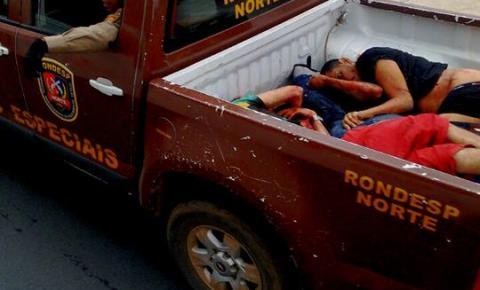 Assaltantes de Banco Morrem em confronto com a Rondesp Norte